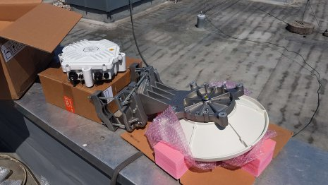Elva-1 PPC-10G Richtfunklink ausrichten