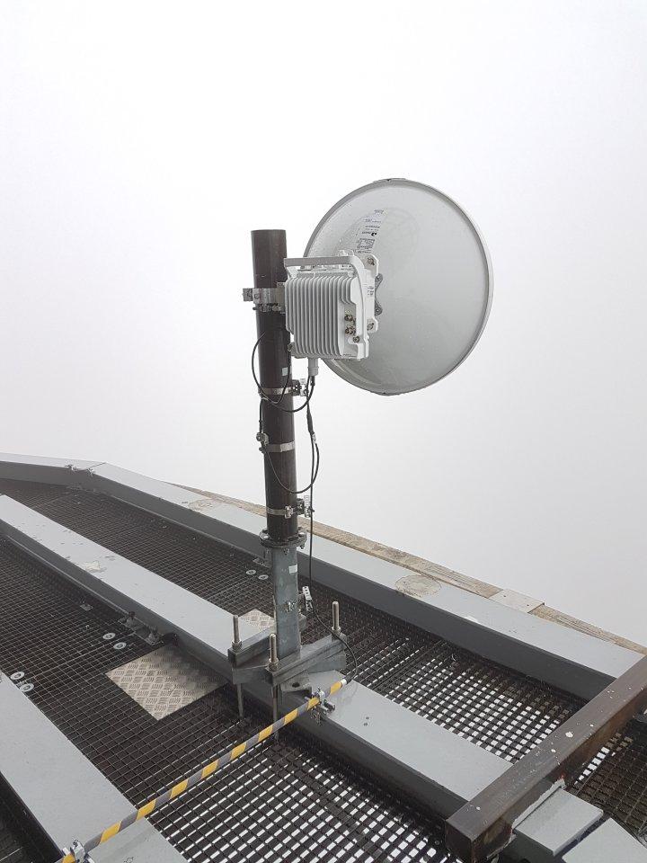 IP-20C Repeaterstandort Antennenplatz