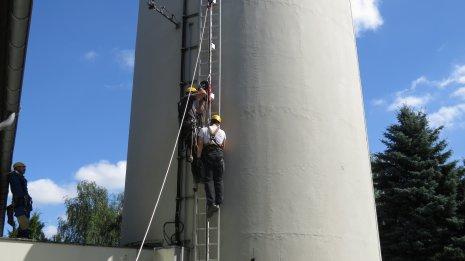 TWS-ASIHR-Sicherheitstraining - Leiterrettung