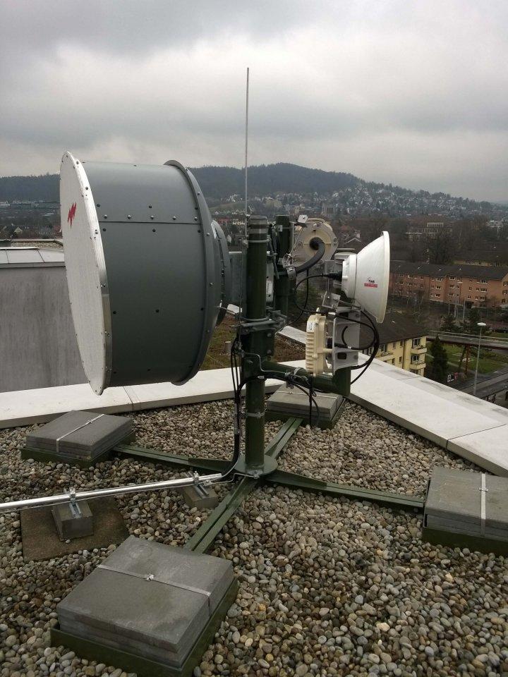 Aviat - ODU-600 - Repeaterstandort